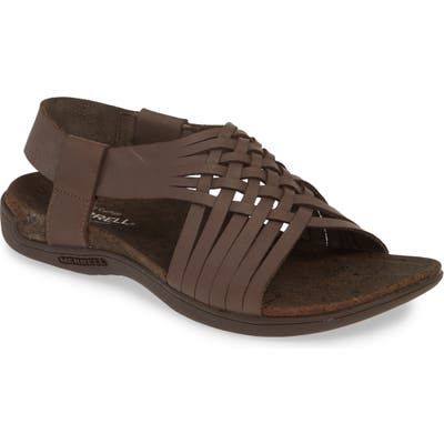 Merrell District Mahana Backstrap Sandal, Brown