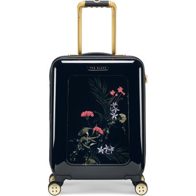 Ted Baker London Small Take Flight 21-Inch Wheeled Hard Shell Carry-On - Black