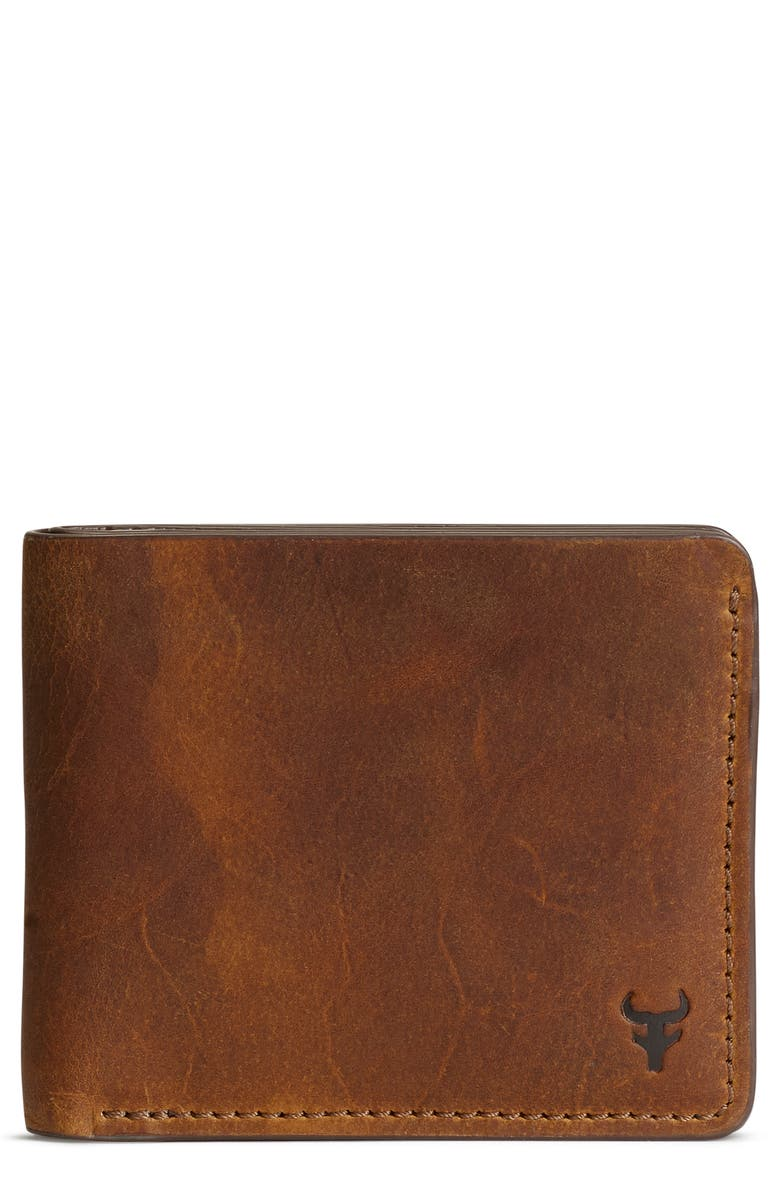 TRASK Holton Leather Slimfold Wallet, Main, color, 240