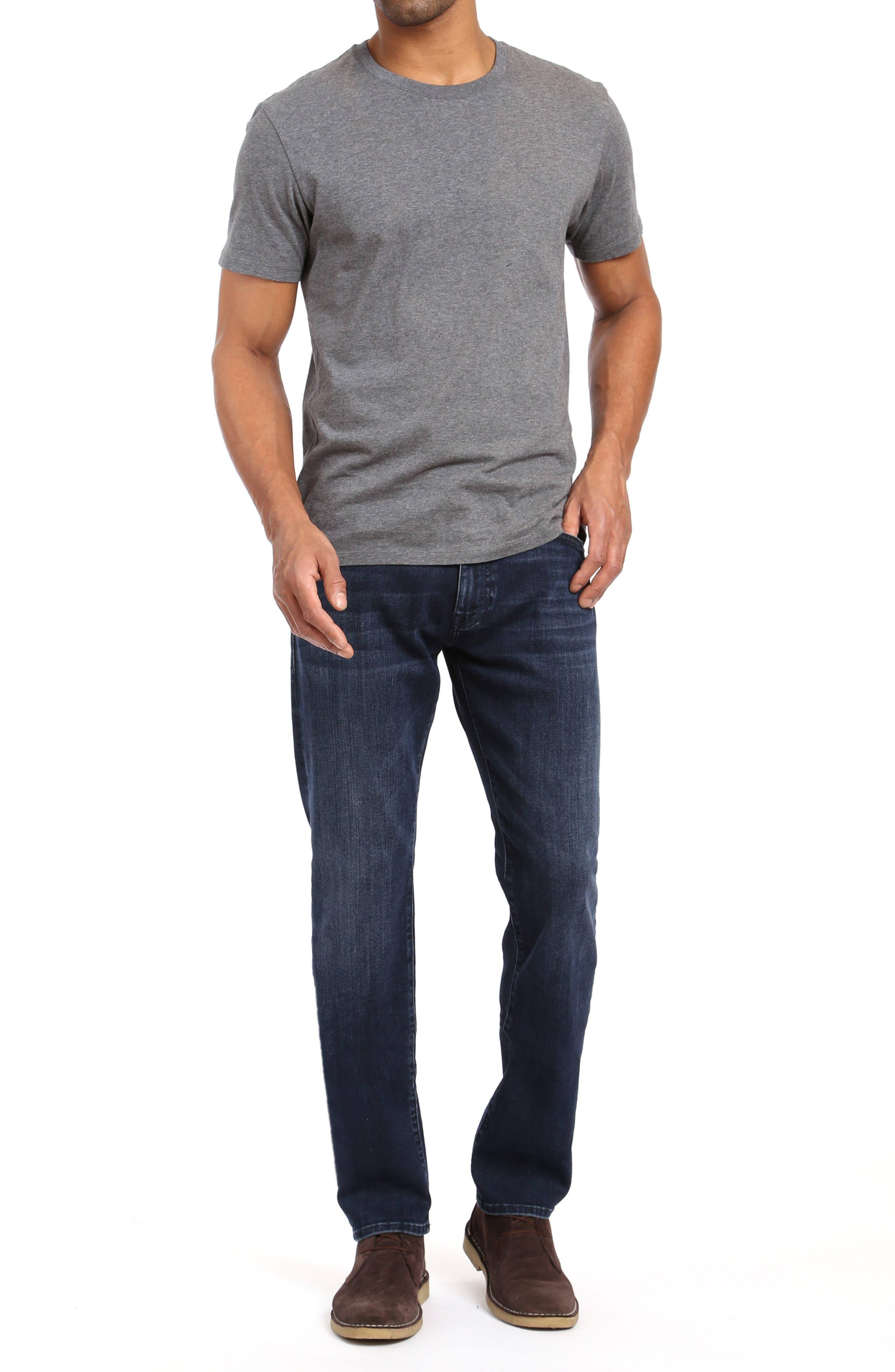 ,                             Marcus Slim Straight Leg Jeans,                             Alternate thumbnail 4, color,                             DARK SKY WILLIAMSBURG