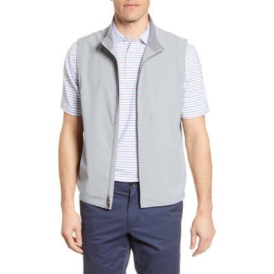 Peter Millar Stealth Light Stretch Vest, Grey