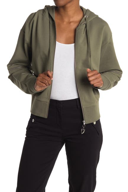 Image of LOVE Moschino Jacket With Hook And Zip Detail