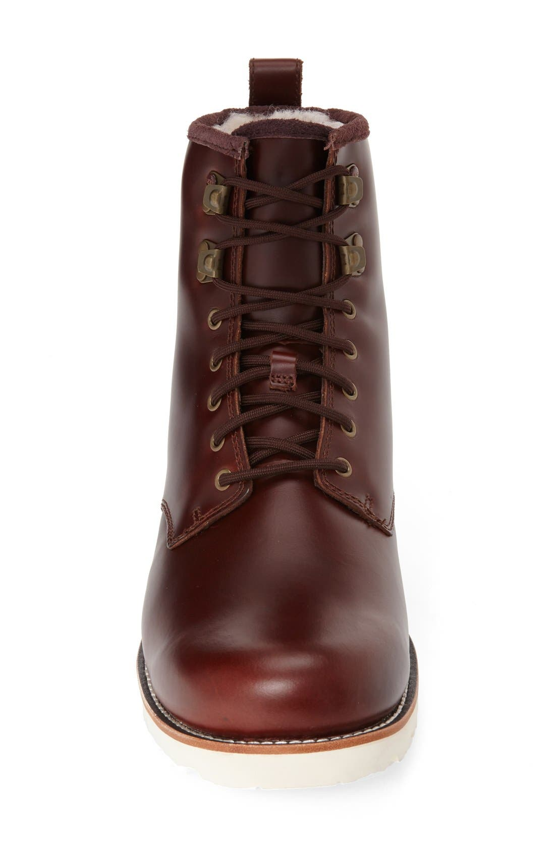 ,                             Hannen Waterproof Boot,                             Alternate thumbnail 3, color,                             CORDOVAN