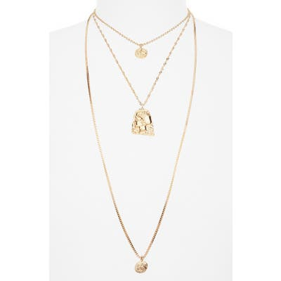 Bp. Layered Coin Necklace