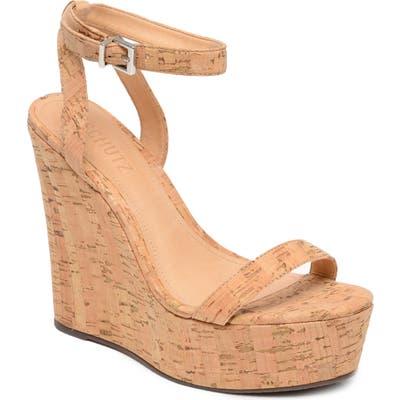 Schutz Eduarda Platform Wedge Sandal