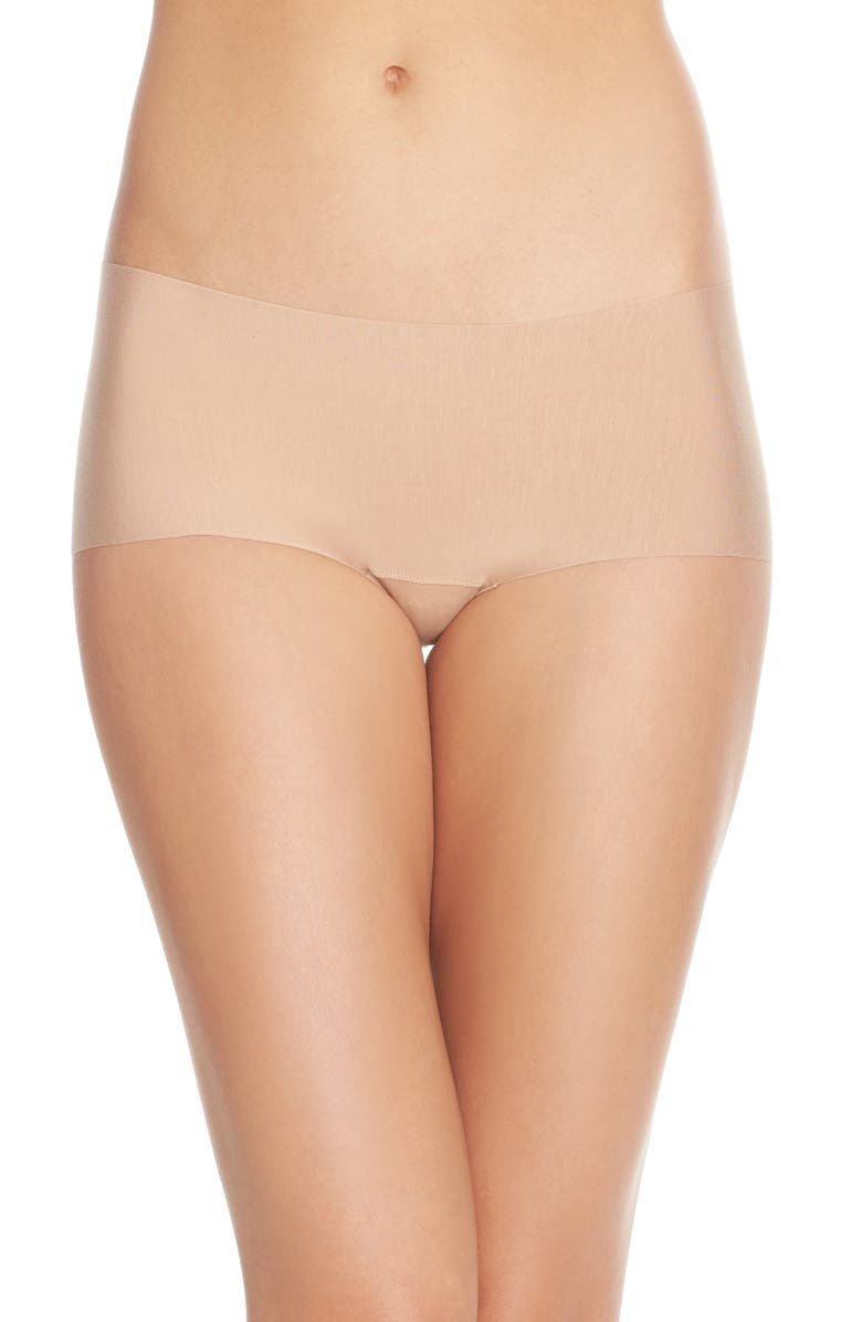 COMMANDO Butter Seamless Hipster Panties, Main, color, BEIGE
