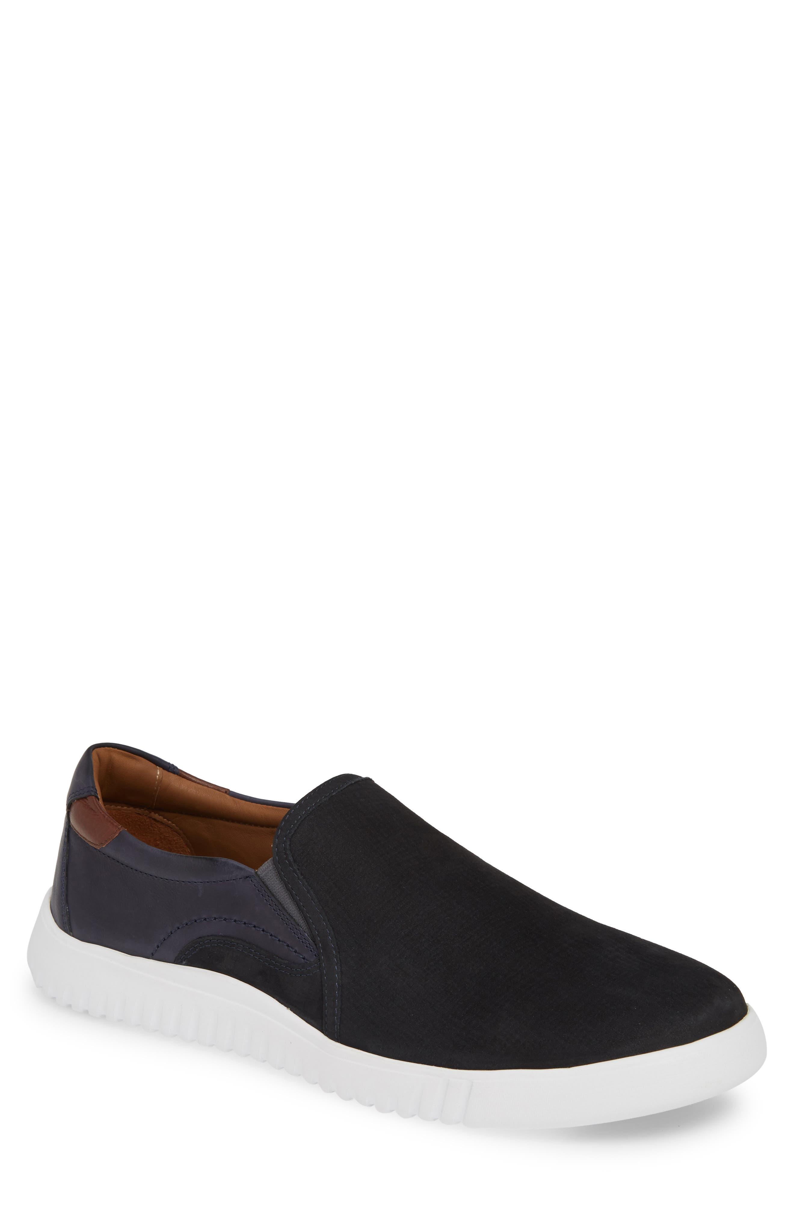 Johnston & Murphy Mcfarland Slip-On Sneaker, Blue