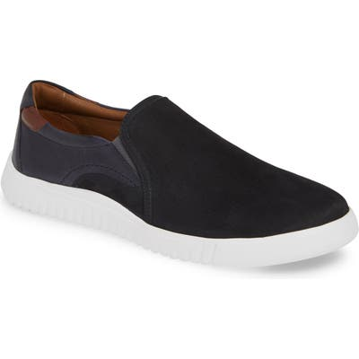 Johnston & Murphy Mcfarland Slip-On Sneaker, Blue