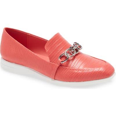 Calvin Klein Banda Chain Loafer, Coral
