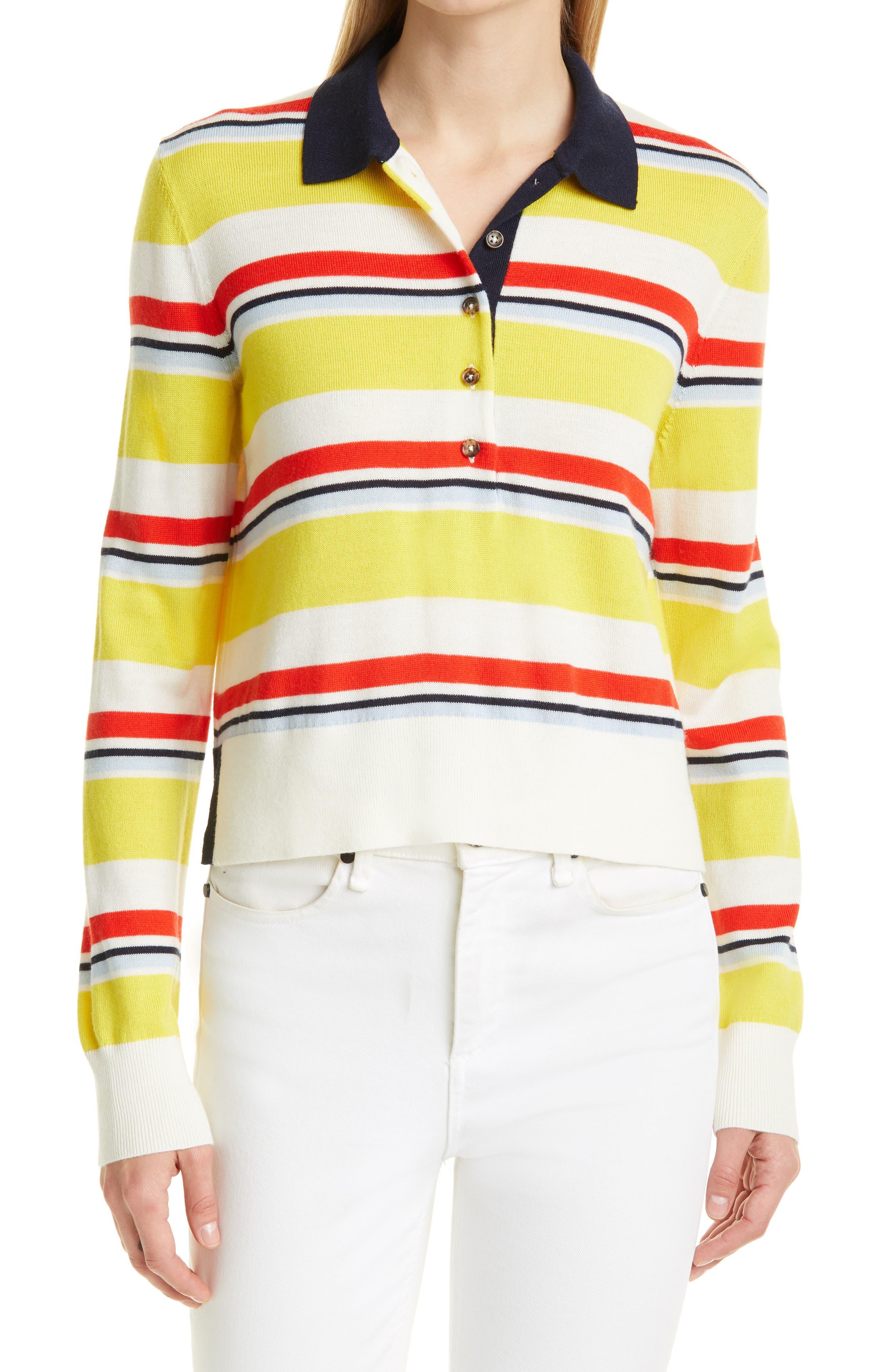 Stripe Rugby Sweater
