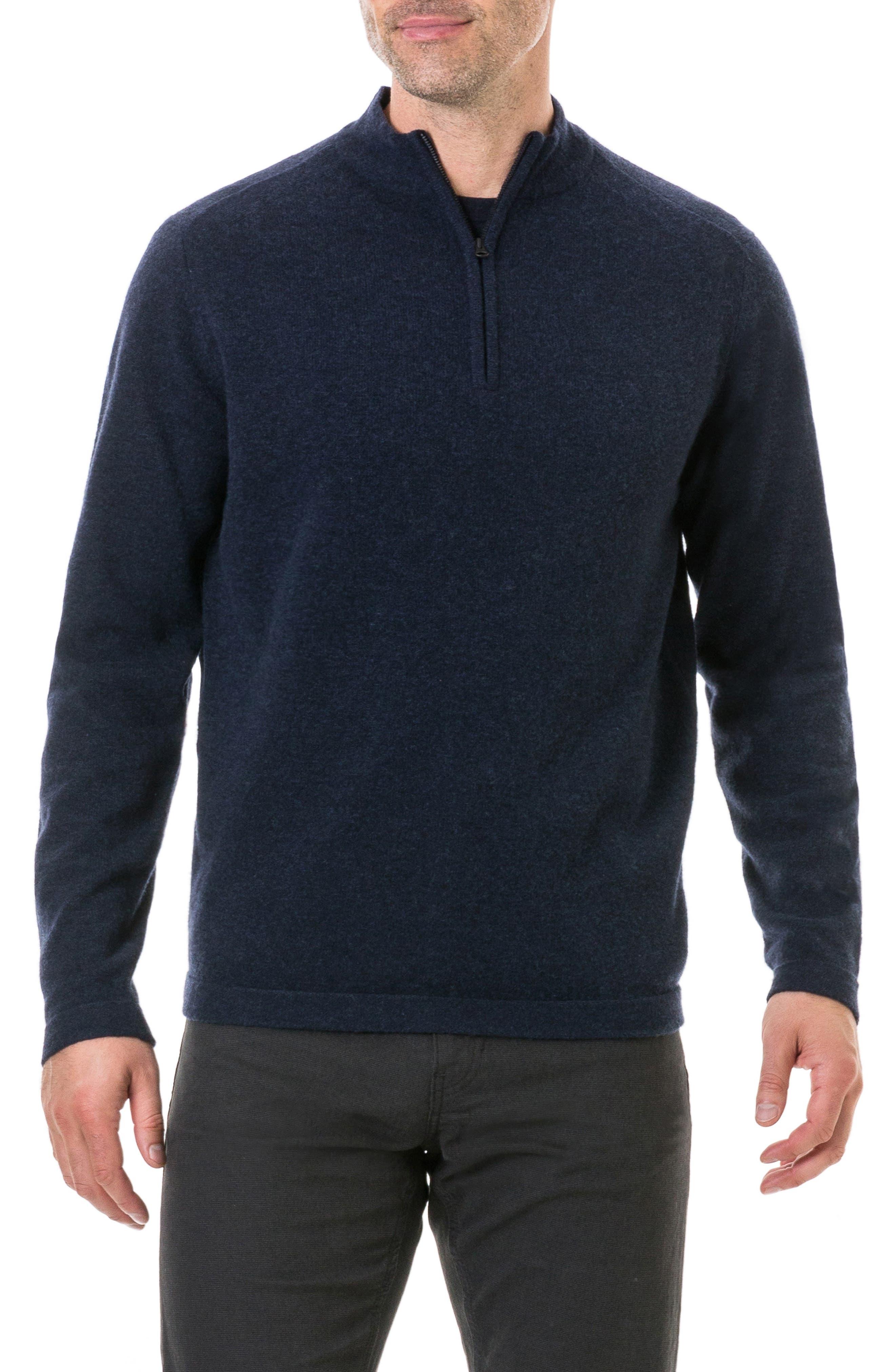 Rodd & Gunn Iverness Lambswool Sweater, Blue
