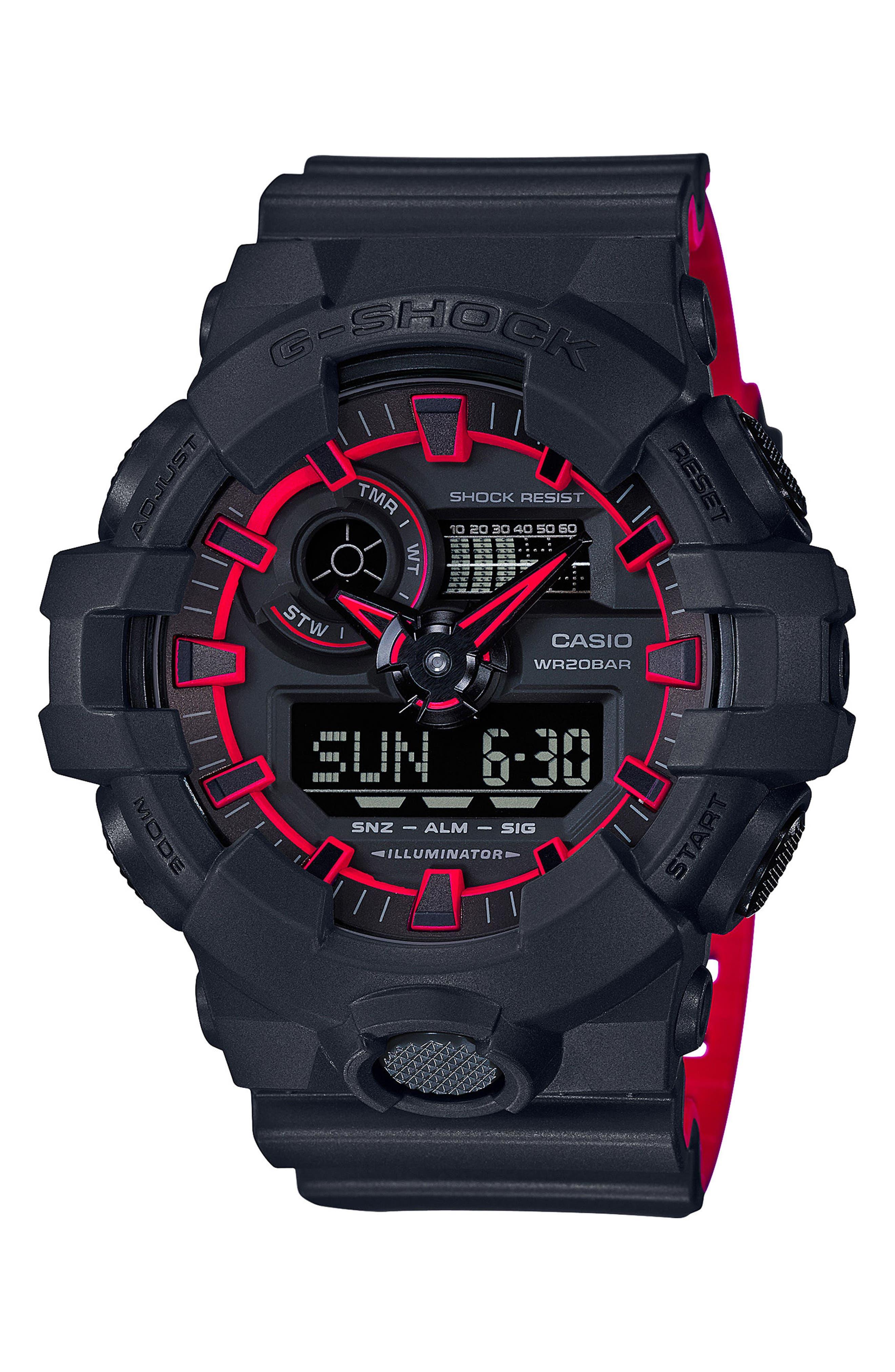 ,                             Military Ana-Digi Watch, 53mm,                             Main thumbnail 3, color,                             003