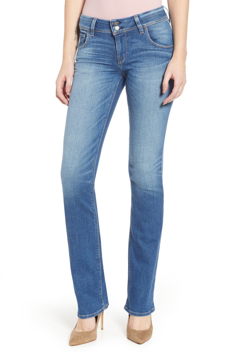 HUDSON JEANS Beth Baby Bootcut Jeans, Main, color, AMARYNTH
