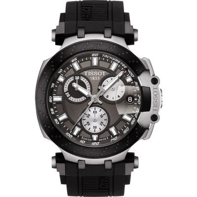 Tissot T-Race Chronograph Silicone Strap Watch, 4m