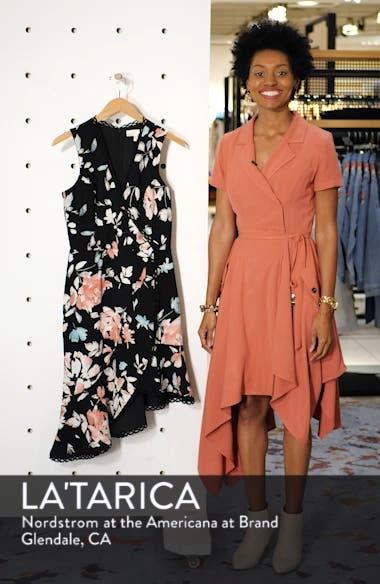 Bijou Floral Plunge Dress, sales video thumbnail