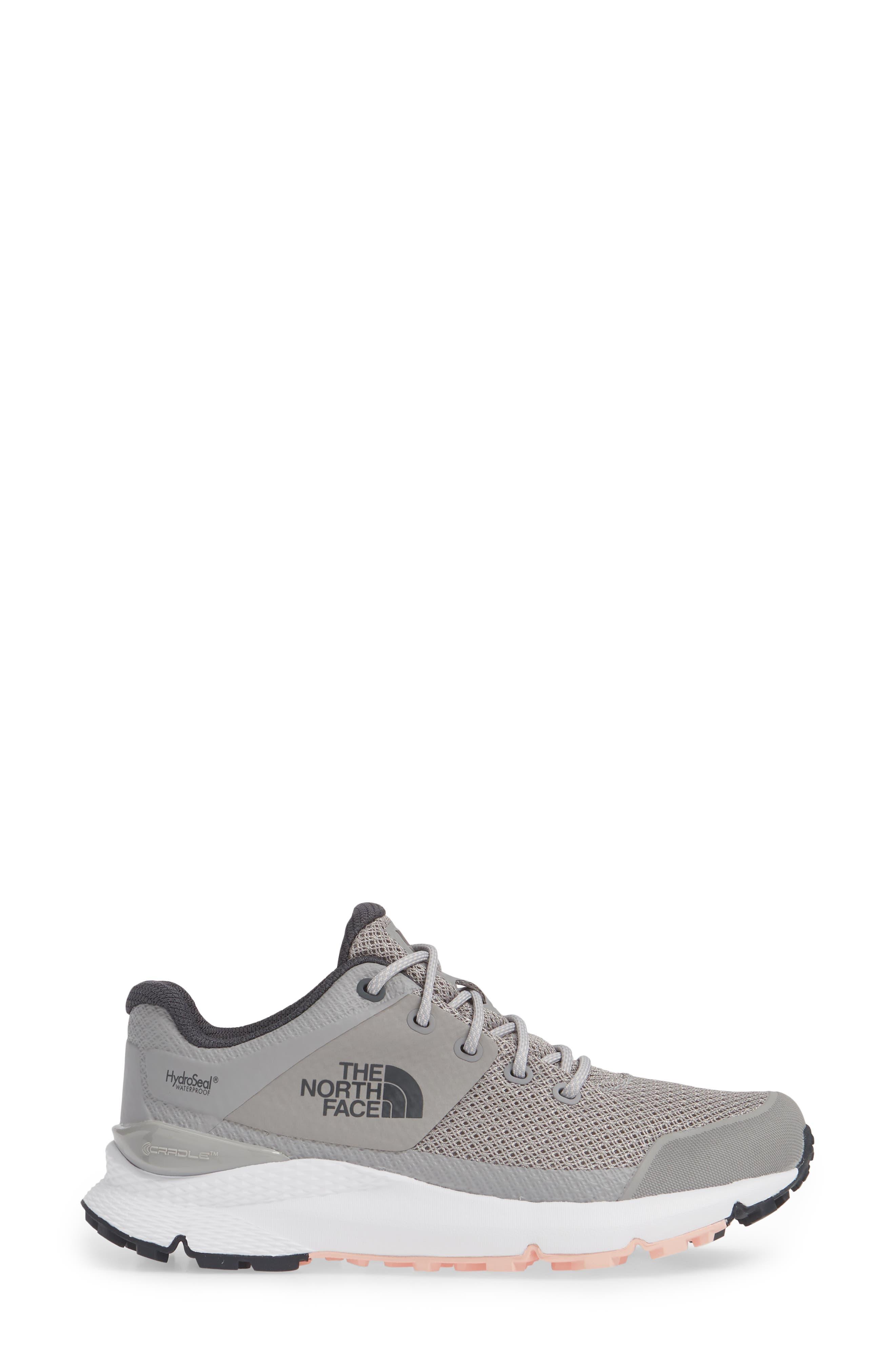 ,                             Vals Waterproof Hiking Sneaker,                             Alternate thumbnail 3, color,                             MELD GREY/ PINK SALT