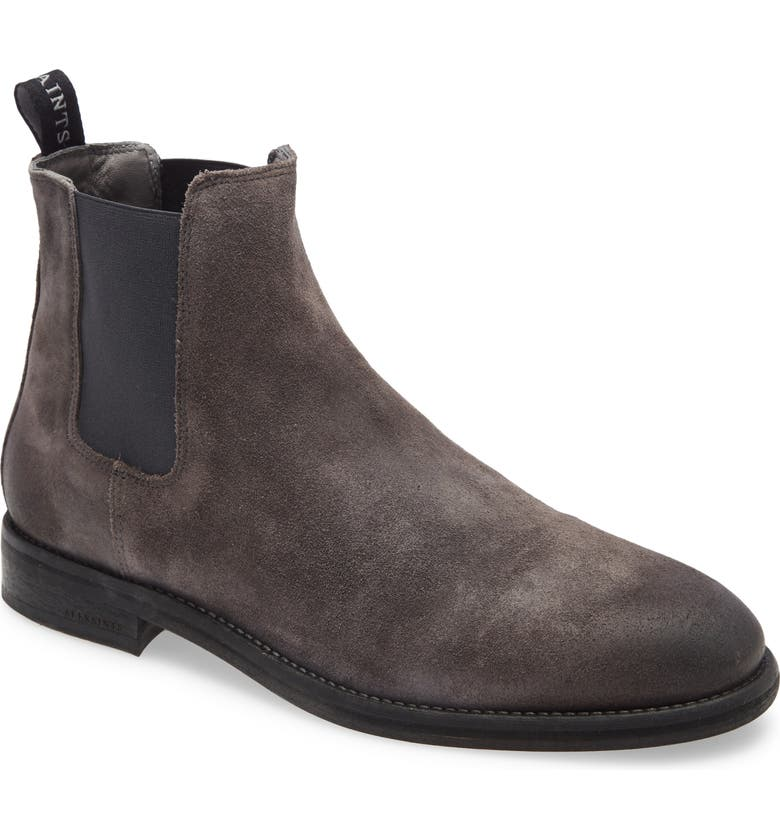 ALLSAINTS Harley Chelsea Boot, Main, color, CHARCOAL GREY