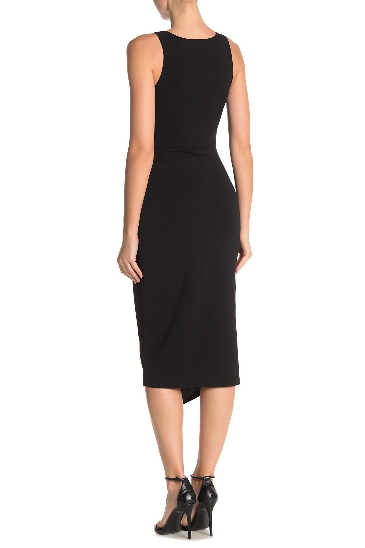 Image of Love...Ady Twist Front Scuba Crepe Dress
