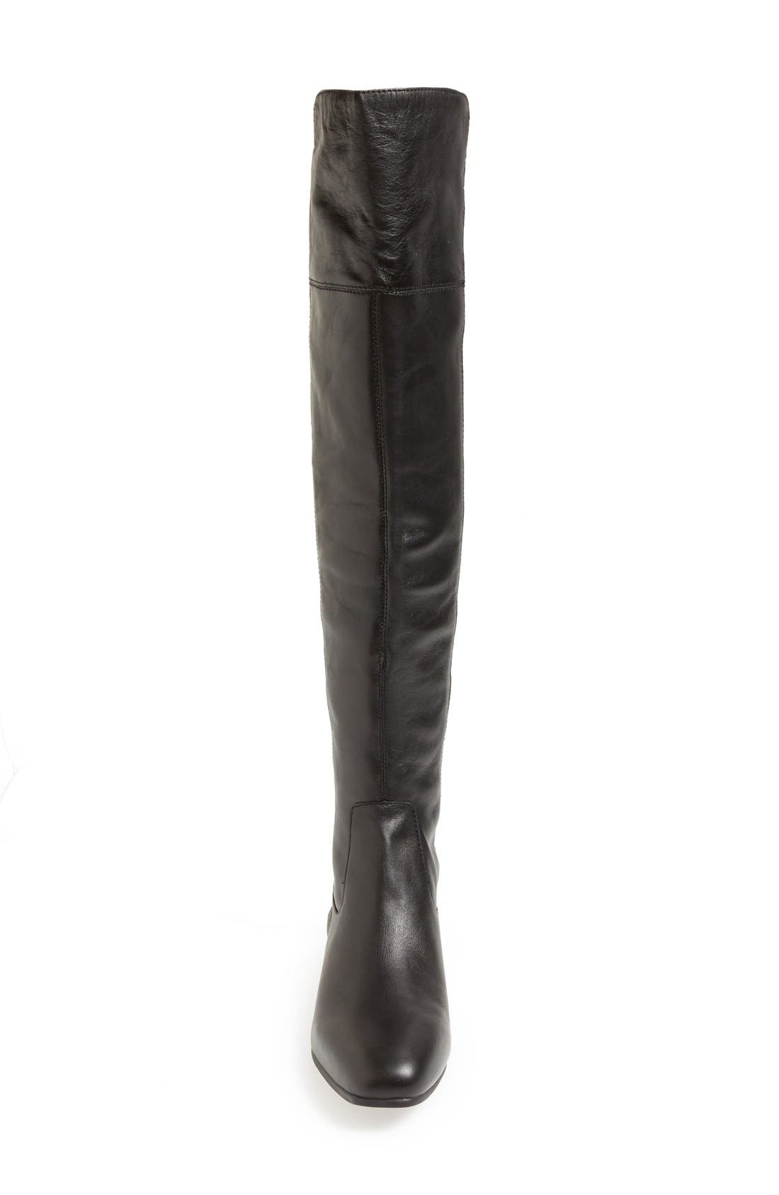 ,                             'Andora' Over the Knee Boot,                             Alternate thumbnail 3, color,                             001