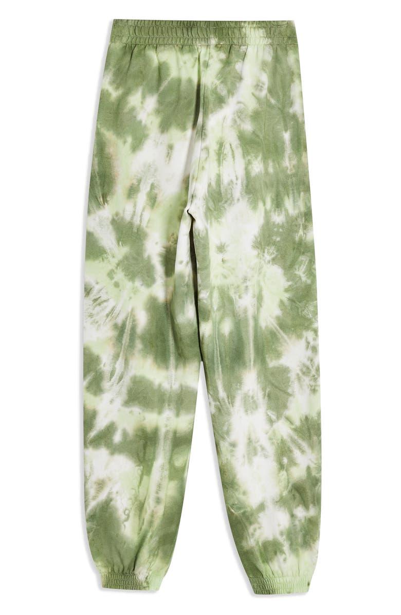 TOPSHOP Tie Dye Jogger Pants, Main, color, 300