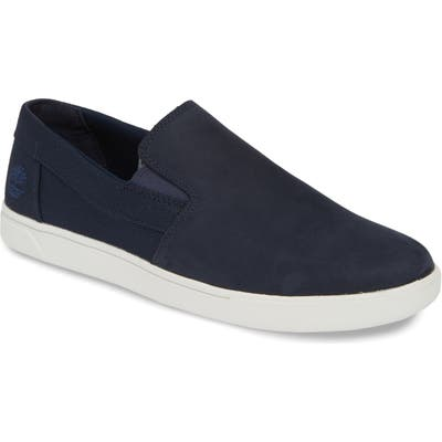 Timberland Groveton Slip-On Sneaker- Blue