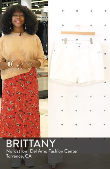 Georgia Roll Cuff Shorts, sales video thumbnail