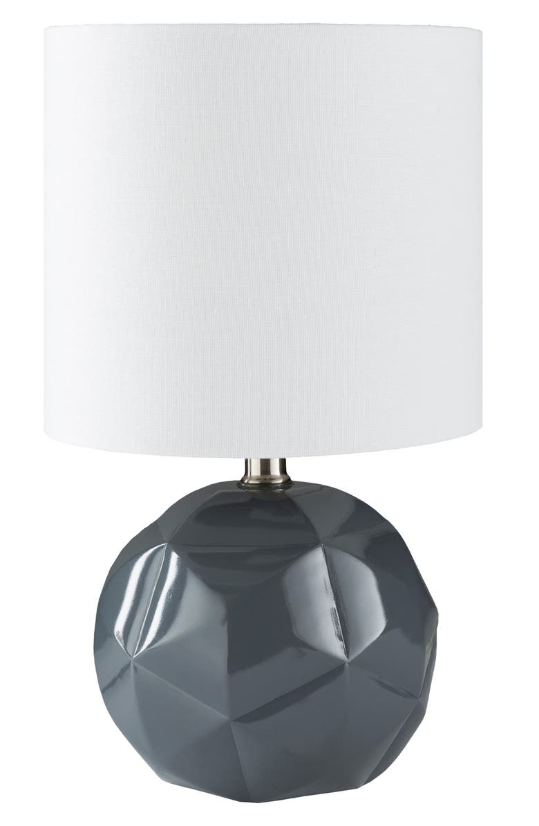 SURYA HOME Thorn Table Lamp, Main, color, CHARCOAL