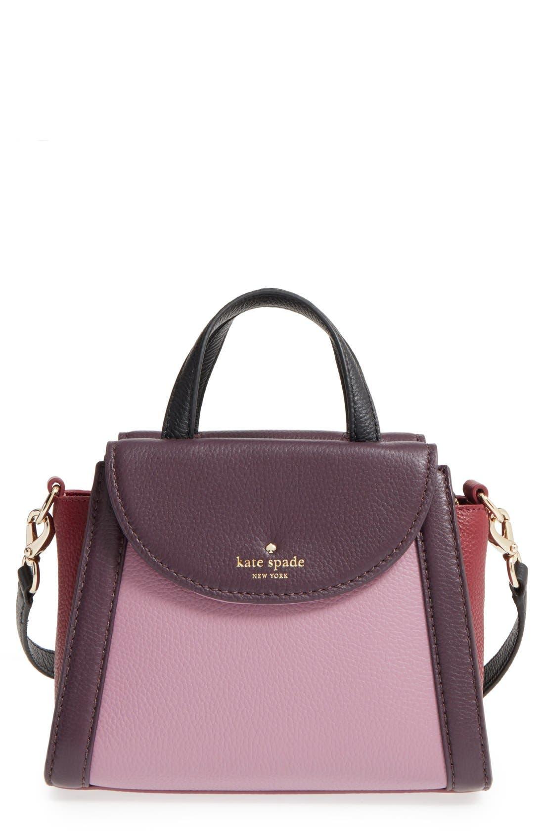 ,                             'cobble hill - small adrien' leather satchel,                             Main thumbnail 19, color,                             930