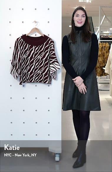 Nouhaila Stripe Jacquard Merino Wool Sweater, sales video thumbnail
