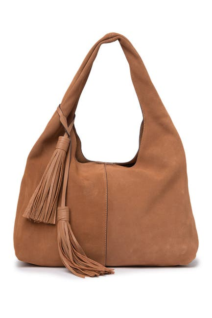 Image of Rachel Zoe Mitchel Suede Hobo Bag