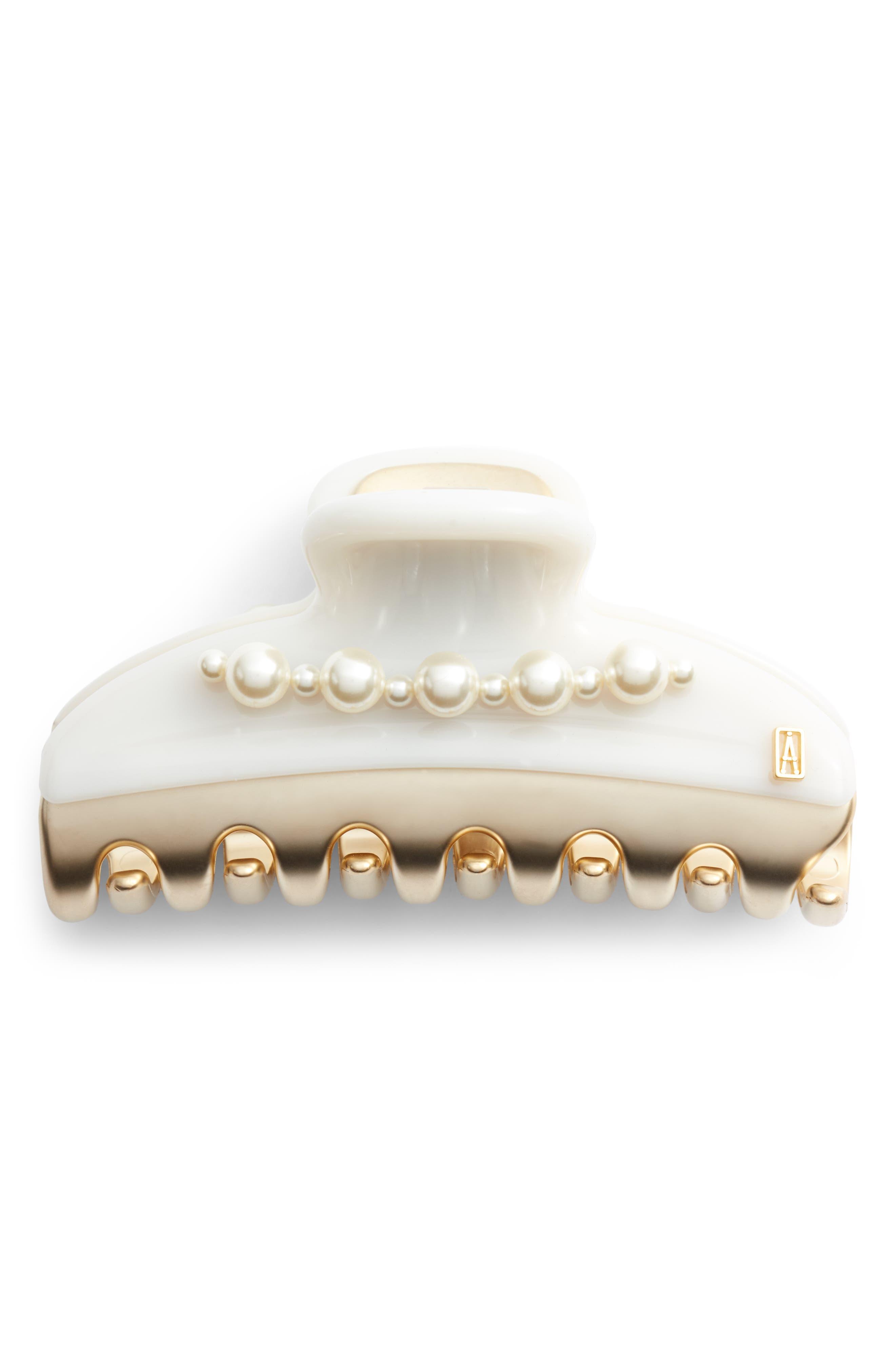 Vendome Imitation Pearl Embellished Hair Clip