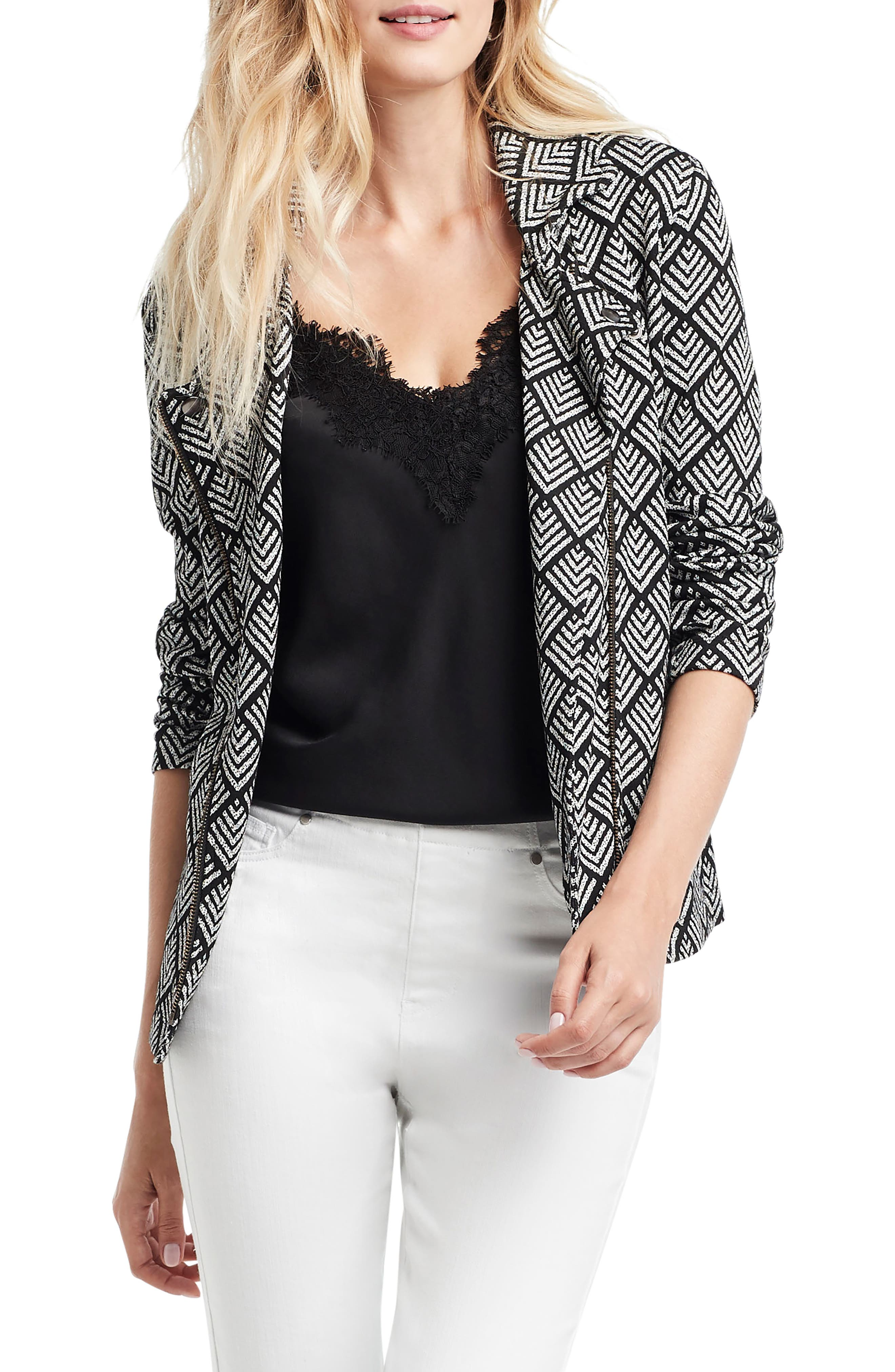 Image of NIC+ZOE Intersect Zip Front Jacket