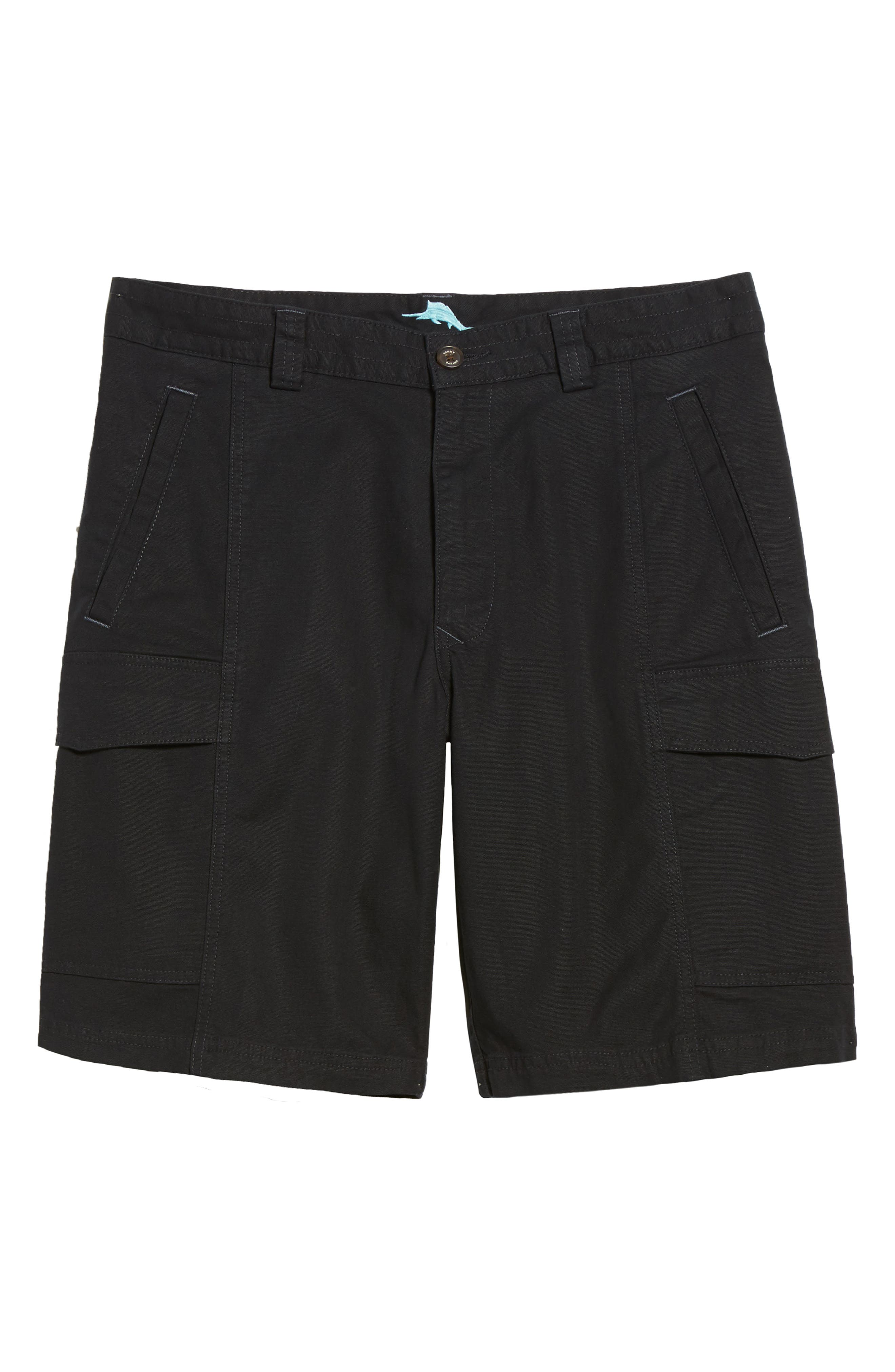 ,                             Key Isles Cargo Shorts,                             Alternate thumbnail 7, color,                             BLACK