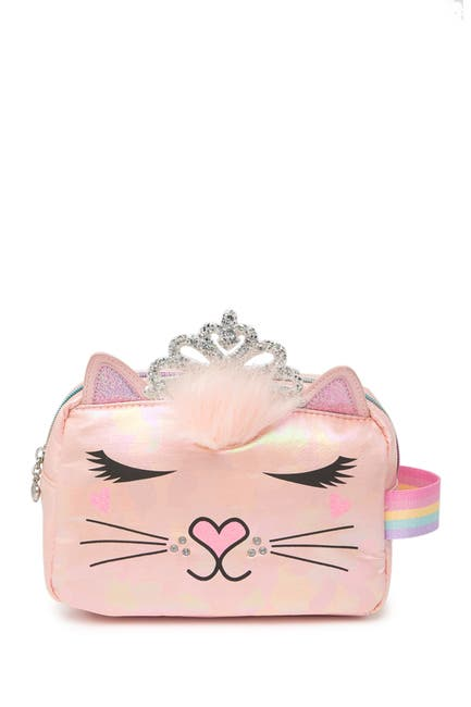 Image of OMG! Accessories Miss Bella Metallic Pouch