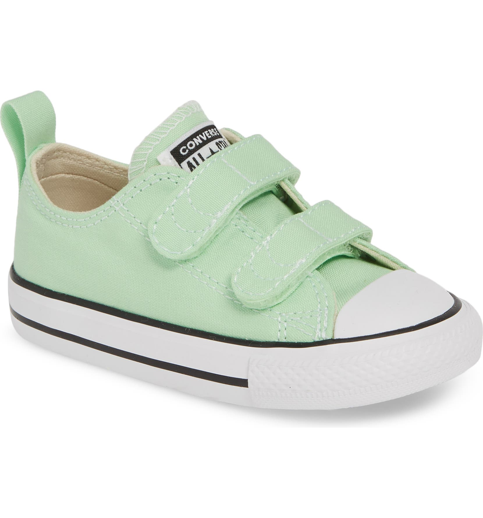 792418958 Converse Chuck Taylor® 'Double Strap' Sneaker (Baby, Walker & Toddler)    Nordstrom