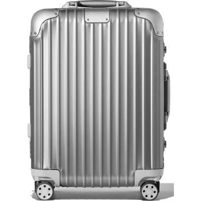 Rimowa Original Cabin Small 22-Inch Packing Case - Metallic