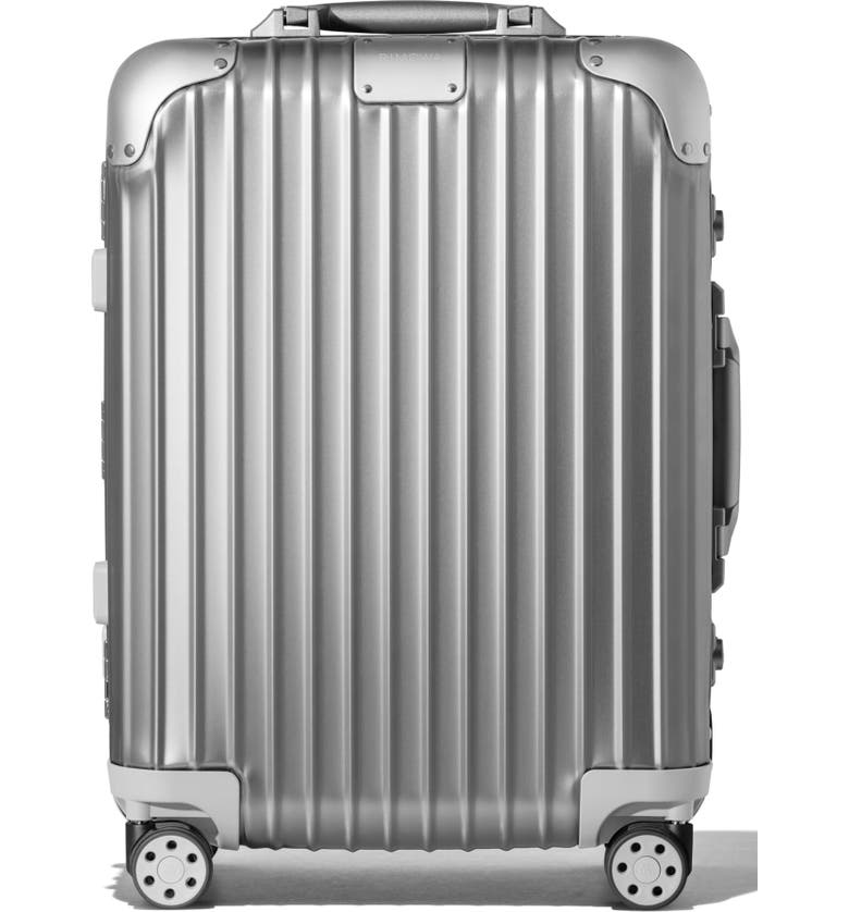 RIMOWA Original Cabin Small 22-Inch Wheeled Carry-On, Main, color, SILVER
