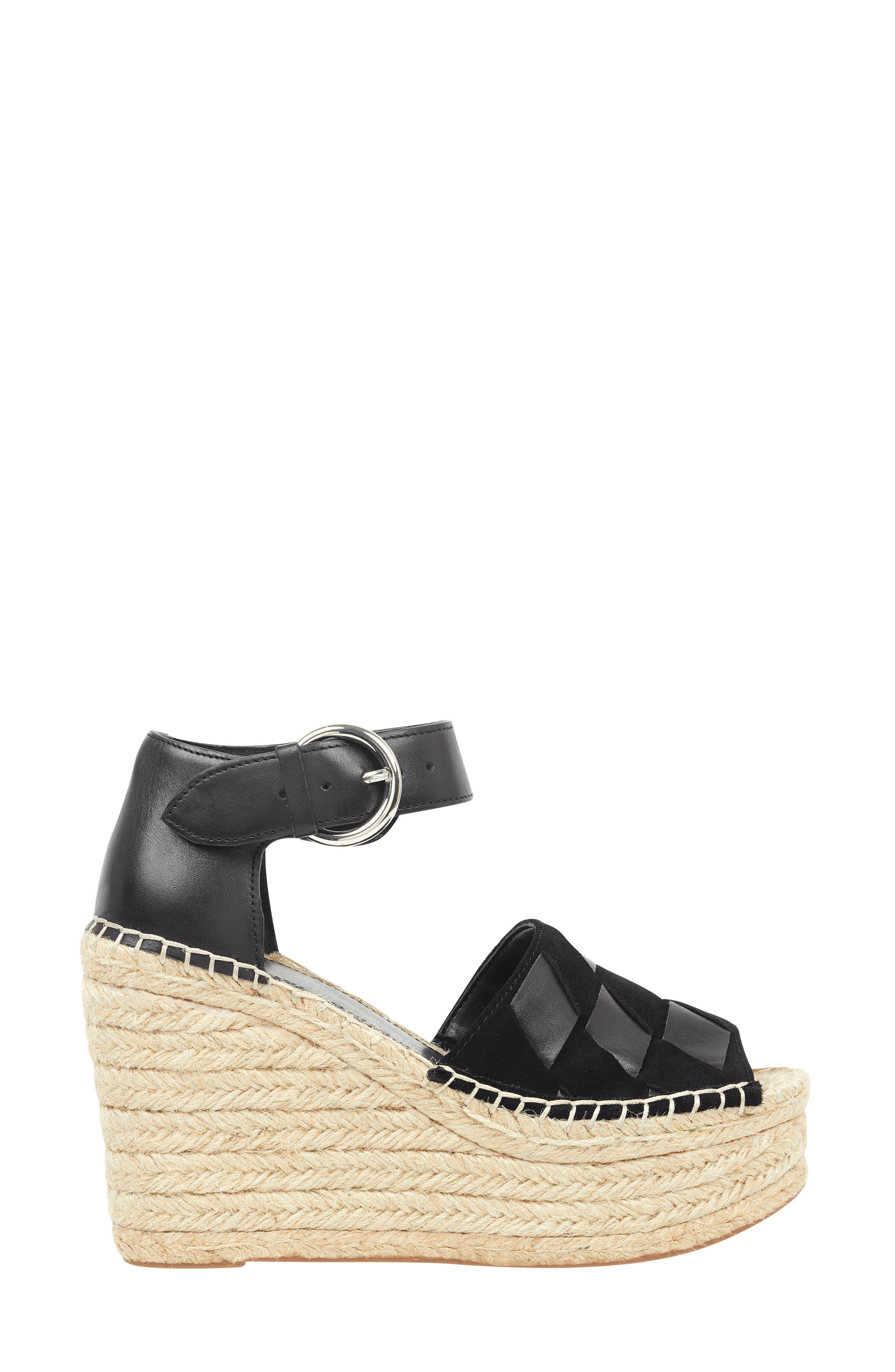 ,                             Adalla Platform Wedge Sandal,                             Alternate thumbnail 10, color,                             001
