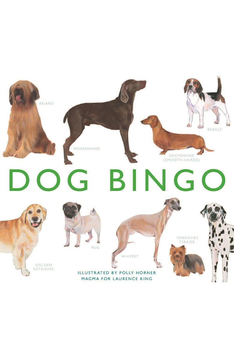 CHRONICLE BOOKS Dog Bingo Game, Main, color, NONE