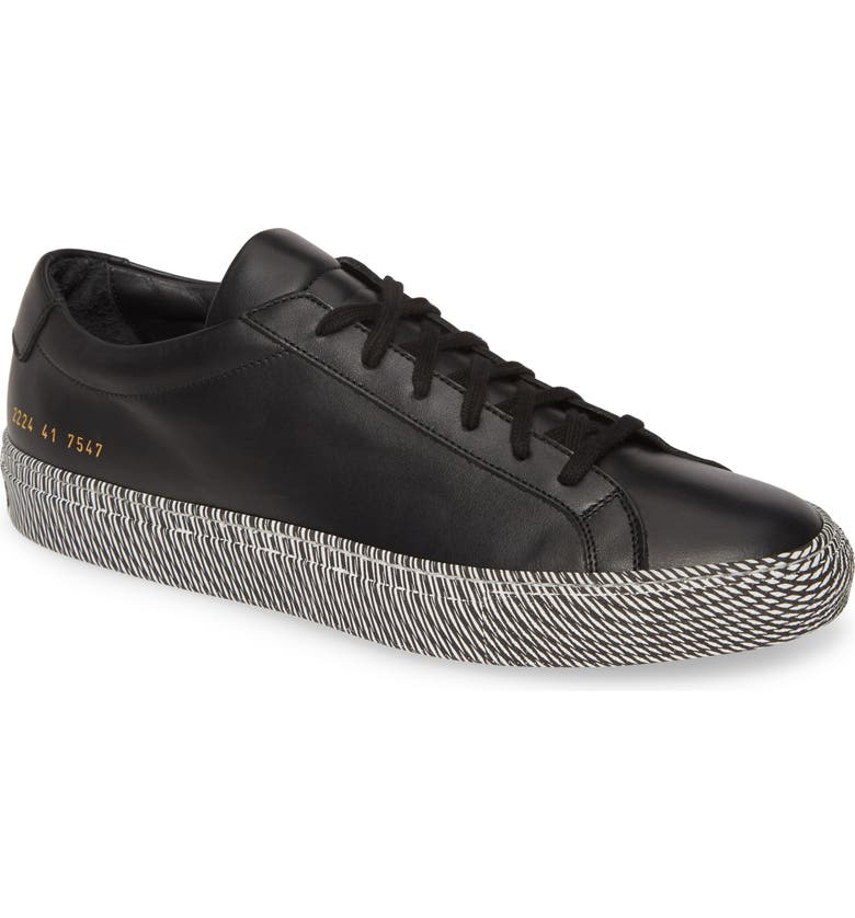 COMMON PROJECTS Achilles Sneaker, Main, color, BLACK