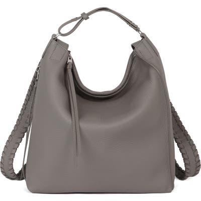 Allsaints Small Kita Convertible Leather Backpack - Grey