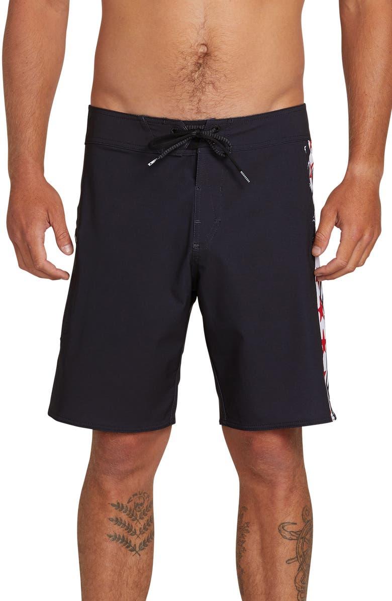 23f89eb262 Freedom Stones Board Shorts, Main, color, BLACK