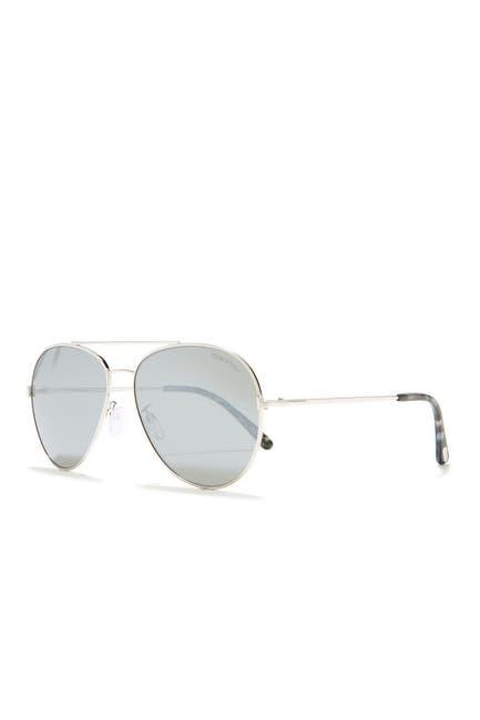 Image of Tom Ford 62mm Aviator Sunglasses