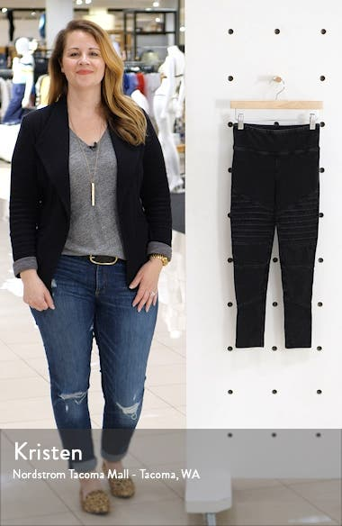 High Waist Moto Pants, sales video thumbnail