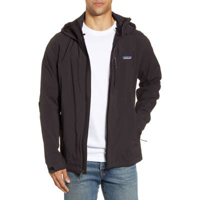 Patagonia Quandary Waterproof Hooded Jacket, Black