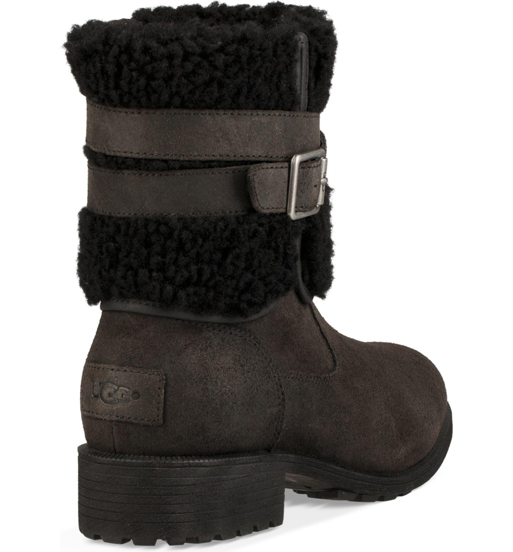 90fc4beba00 Blayre III Wool Cuff Bootie