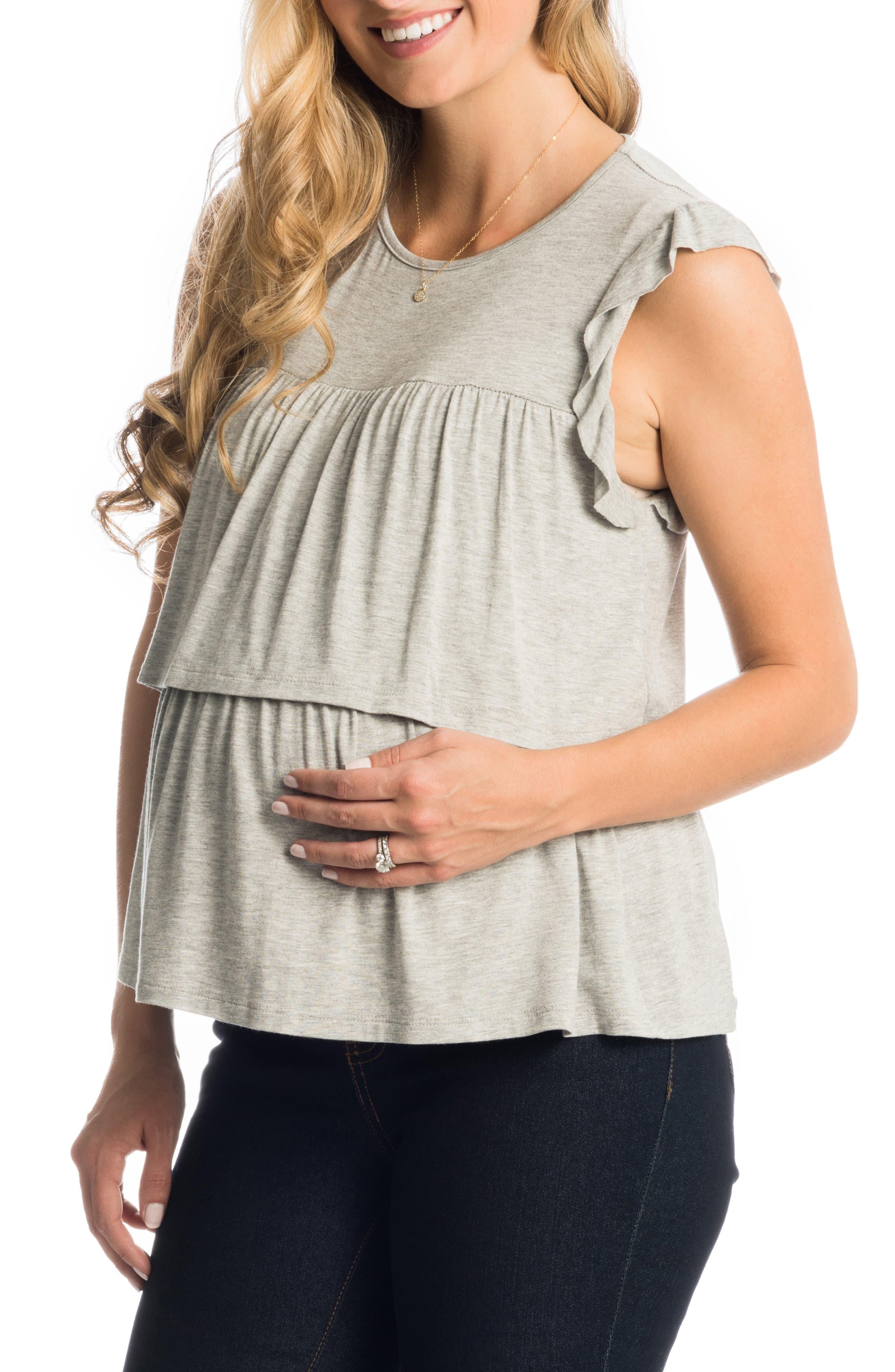 Valentina Maternity/nursing Top