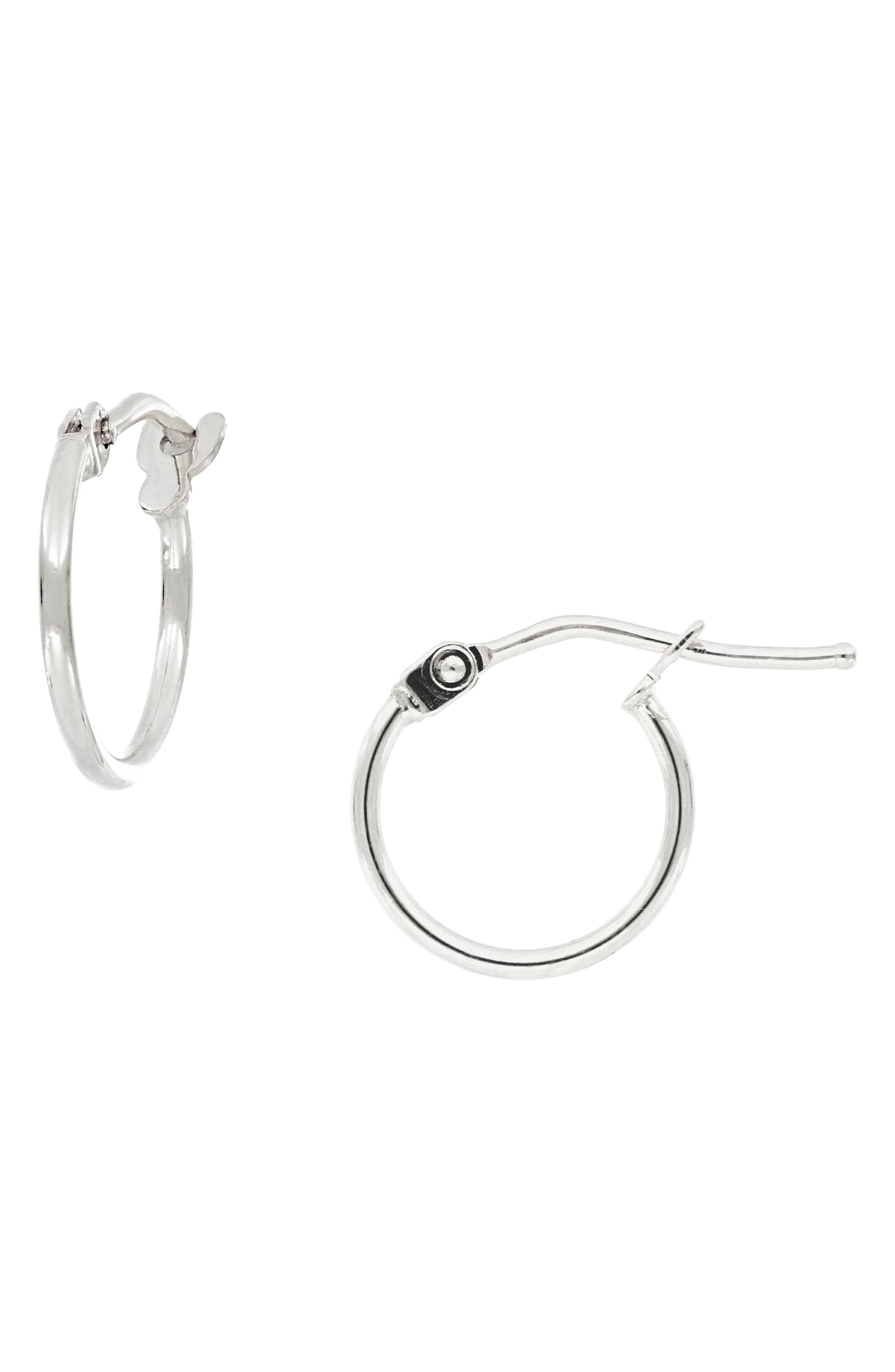 64fe41e3ae781f Bony Levy 14K Gold Mini Hoop Earrings (Nordstrom Exclusive)