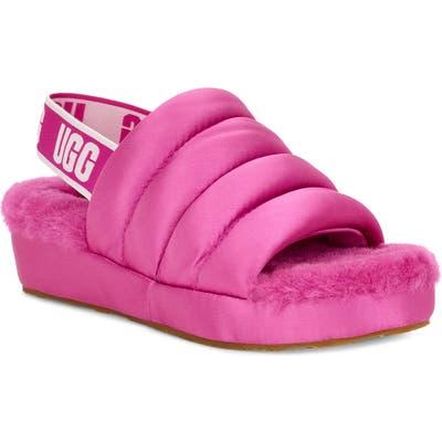 Ugg Puff Yeah Slipper, Pink