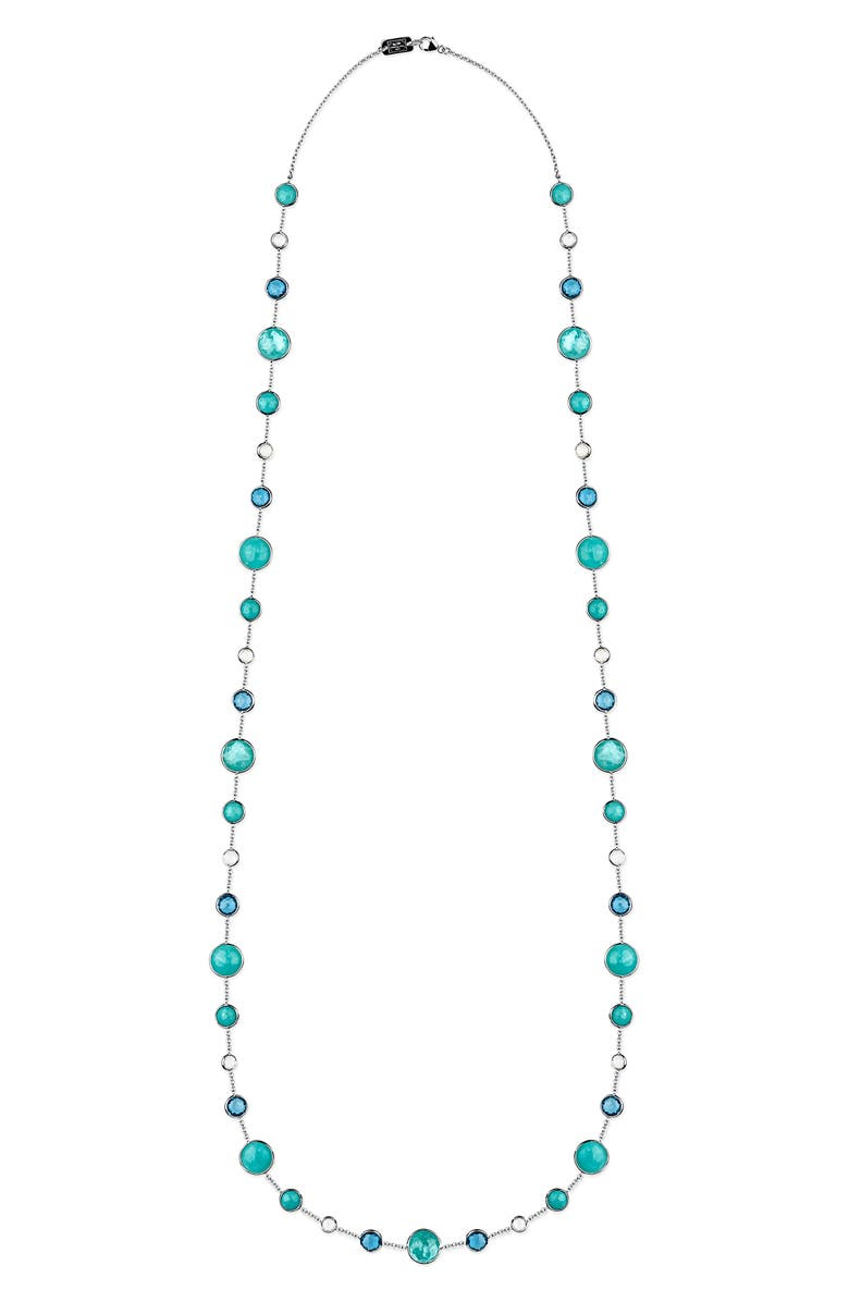 IPPOLITA Lollipop Long Station Necklace, Main, color, WATERFALL
